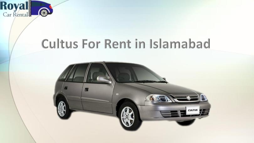 rent a cultus Islamabad